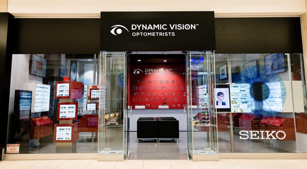 image of a dynamic vision optometrists shop